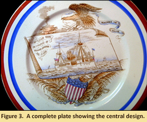 Figure 3.  A complete plate showing the central design.