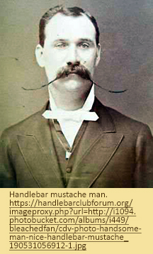 Image of man with elaborate handlebar mustache.